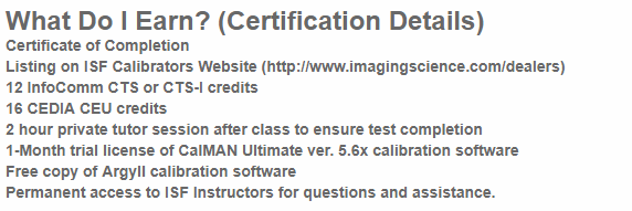 ISF Certification | GCI-DISTRIBUTION